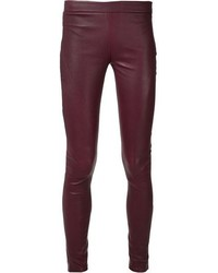 Tess giberson pieced leather leggings medium 99835