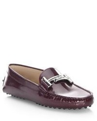 Tod's Gommini Double T Bar Loafers