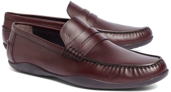 662738d95e7 ... Brooks Brothers Harrys Of London Basel Box Grain Loafers ...