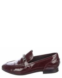 Rag & Bone Patent Leather Chain Link Loafers