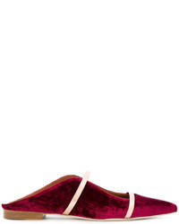 Malone Souliers Strap Detail Mules