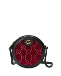 Gucci Gg Supreme Round Shoulder Bag