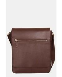 Tommy Bahama Leather Messenger Bag