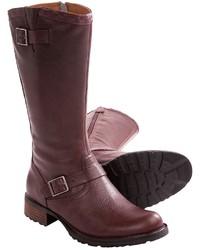 Sebago Saranac Buckle High Boots Leather