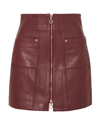Alice McCall Make Me Yours Leather Mini Skirt