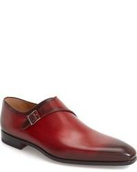 Magnanni Efren Monk Strap Shoe
