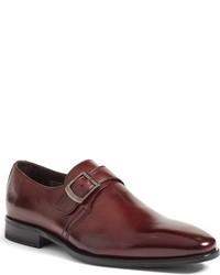 John W Nordstrom Grosetto Monk Strap Shoe