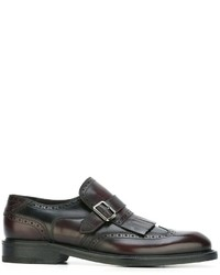 Salvatore Ferragamo Genesis Monk Shoes