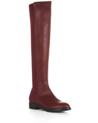 BCBGMAXAZRIA Matteo Over The Knee Leather Boots