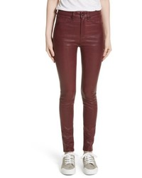 Rag & Bone Jean Lambskin Leather Pants
