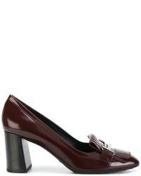 Tod's Double T Fringed Pumps