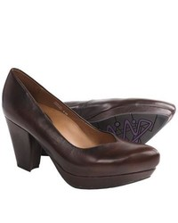 Earthies Tarnow Pumps Chestnut Leather