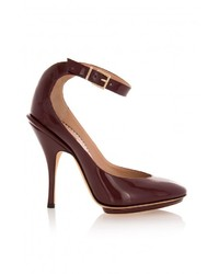 Emporio Armani Ankle Strap High Heels