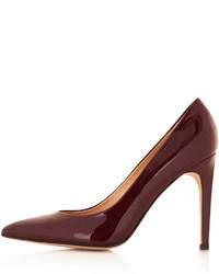 Topshop Glimmer Glitter Court Shoes