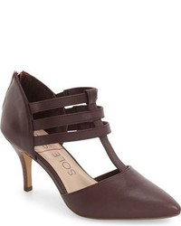 Sole Society Mallory T Strap Leather Pump