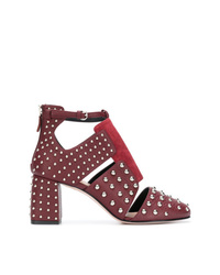 RED Valentino Red Metal Dot Ankle Pumps