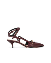 RED Valentino Red Pointed Toe Pumps