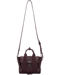 3.1 Phillip Lim Burgundy Mini Pashli Satchel