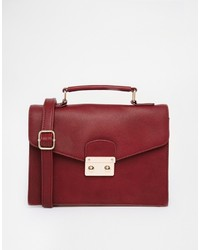 Asos Collection Color Block Clean Satchel Bag