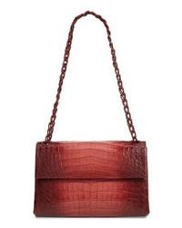 Nancy Gonzalez Degrade Genuine Crocodile Shoulder Bag