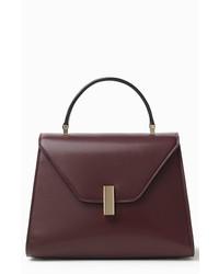 Valextra Iside Guilloche Medium Bag