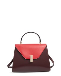 Valextra Iside Medium Colorblock Leather Bag