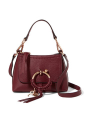 See by Chloe Joan Mini Textured Leather Shoulder Bag