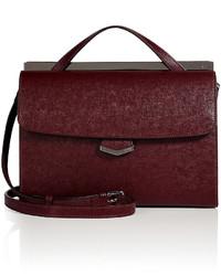 Fendi Leather Demi Jour Convertible Satchel