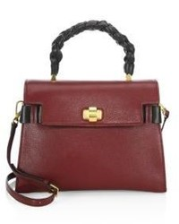 Miu Miu Leather Top Handle Satchel