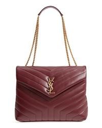 Saint Laurent Medium Loulou Matelasse Calfskin Leather Shoulder Bag