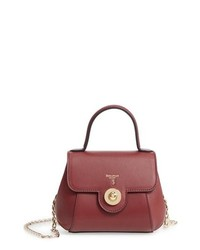 SERAPIAN MILANO Mini Gina Leather Satchel