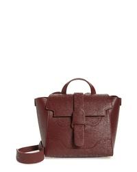 Senreve Mini Mstra Leather Satchel