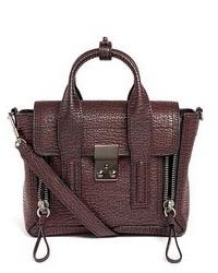 3.1 Phillip Lim Pashli Mini Grainy Leather Satchel