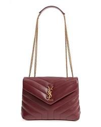 Saint Laurent Small Loulou Leather Shoulder Bag