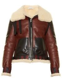 Altuzarra Antioch Leather And Shearling Jacket