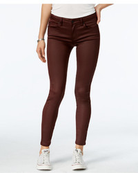 Celebrity Pink Juniors Infinite Stretch Coated Skinny Jeans