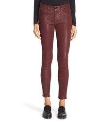 Leather skinny pants medium 801909