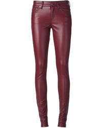 Saint Laurent Eco Leather Skinny Trouser