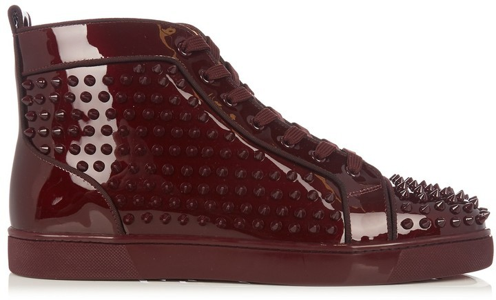 pretty nice 77a77 abe98 Louis Orlato Spike Embellished High Top Trainers