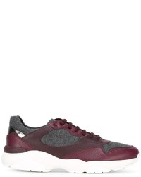 Salvatore Ferragamo Panelled Sneakers