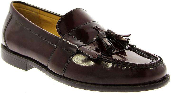 7c253ea77ed76 ... Nunn Bush Keaton Kiltie Tasseled Leather Dress Shoes