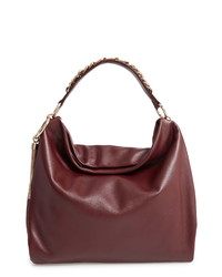 Jimmy Choo Callie Leather Hobo