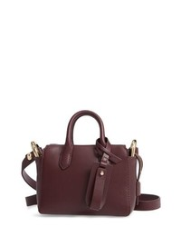 J.Crew Mini Harper Leather Satchel