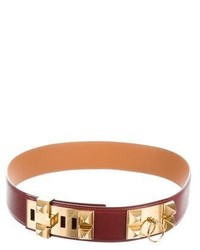 Hermes Herms Collier De Chien Belt