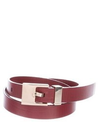 Leather waist belt medium 6569780