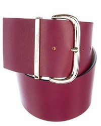Emporio Armani Leather Waist Belt