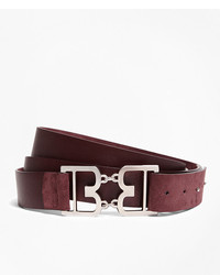 Brooks Brothers Suede Double Wrap Belt