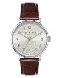 Ted Baker London Mimosaa Leather Watch