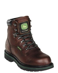 John Deere John Dee 6 Wp Leather Work Boots