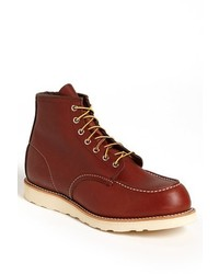 Red wing 6 inch moc toe boot medium 343177